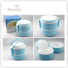Двойной Слой Пищевой Пластик Коробка Тепловой Обед