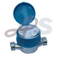 Medidor de agua de un solo chorro