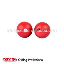 Especial de diseño de alta calidad de color rojo claro bola de goma