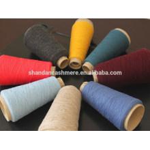 Fio de lã 100% de lã por atacado da fábrica da Mongólia Interior China