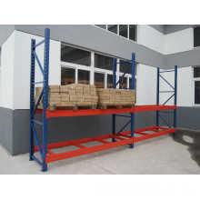 Supports de stockage de marchandises en tôle d'acier lourde