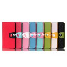 PU antichoc Compact magnétique pochette Filp Leather Wallet pour LG G3