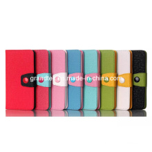 Magnetic Compact Shockproof PU Pouch Filp Leather Wallet for LG G3