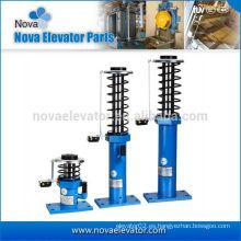 Suministro de aceite de elevador de amortiguación para el elevador con el resorte en el interior