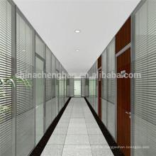 Bester Preis gestreifte bedruckte Aluminiumjalousien für Büro