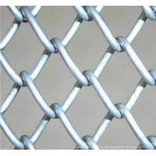 Clôture de liaison en chaîne galvanisée à chaud