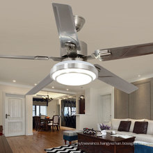 Indoor Lighting Ceiling Fans Remote Control Low Watt AC Voltage DC Motor Ceiling Fan With Light