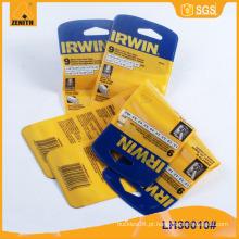 PVC Hangtag etiqueta vestuário LH30010