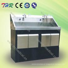Thr-Ss078 Lavatório de lavagem de aço inoxidável do hospital
