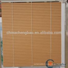 Façades en bois en aluminium en placage de plantations en Chine