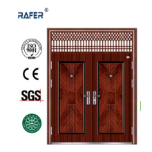 Hot Sale Cheap Big Steel Door with Air Window (RA-S184)