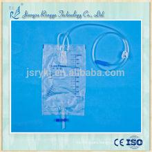 1000ml Disposable medical drainage urine bag