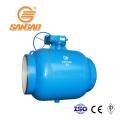 система отопления и снабжения природным газом цельносварные цапфы шаровых кранов полнопроходные