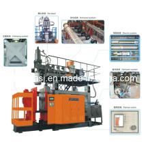 Máquina de moldagem por sopro 100L para PE / PP (TVA-100L)