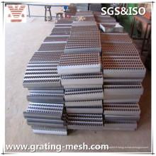 Damier / Checkered / antidérapant / plaque d'acier pour la marche d'escalier