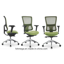 Green Confortable Office Staff Mesh Chair with Swivel and Lift Function