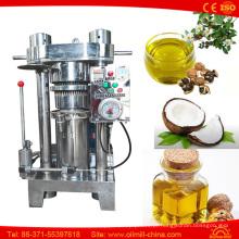Máquina de processamento do óleo do amendoim do coco da abóbora do feijão de cacau da camélia da noz
