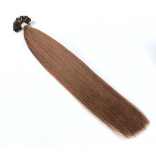 Nail U Tip Brazilian Natural Remy Extensions Silk Straight Best Quality Factory Price Thickr Double Drawn Human Hair