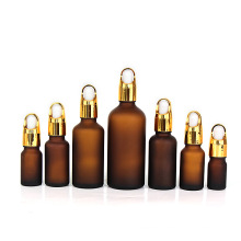 5ml 10ml 15ml 20ml 30ml 50ml 100ml Glass Dropper Frosted Amber Essential Oil cosmetic Bottle