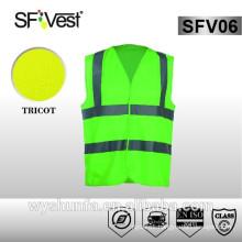 reflective clothing railroad workwear fabric safety vest