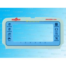 membrane switch with poly dome with 3m back adhesive