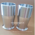 Sanitary Stainless Steel Pipe Fitting Quick Hose Coupling