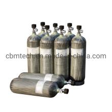 Aluminum Liner Carbon Fiber Composite Air Cylinders