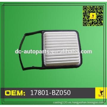 Toyota Filtros aire OE 17801-BZ050,17801BZ050