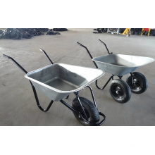 Manufacturer Supply Double Wheels Wheelbarrow for European Market (WB6406)