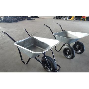 Hersteller Supply Doppelräder Schubkarre für den europäischen Markt (WB6406)