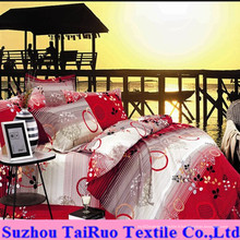 100% pongé de polyester pour le tissu de drap