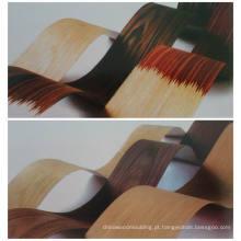 Borda de borda de carvalho vermelho