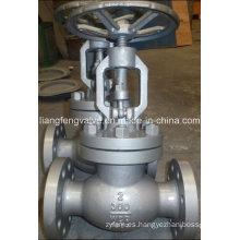 Final de brida de la válvula de globo de acero al carbono