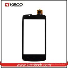 8 ans Fabricant Noir Téléphone portable Nouvelles pièces Digitizer à écran tactile pour Fly IQ4490