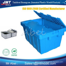 injection cheap plastic crate moulding