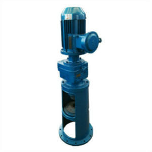 Flange Mounted Hollow Shaft Helical-Worm Gear Unit