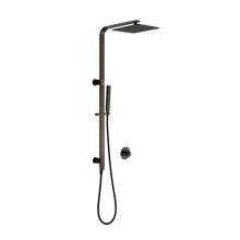 10'' Stainless Matt black Steel Rain Shower Set