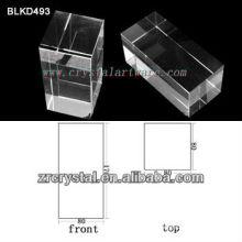 K9 Leer Crystal für 3D Lasergravur BLKD493