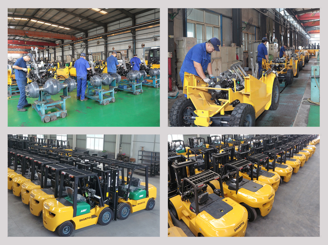 Production Line & Warehouse