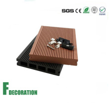 Solid Low Cost Wood Plastic Composite Decking Flooring