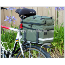 New Bicycle Bike Bag Pannier Cycling Rack Rear Frame Mount Saddle Bag Carrier