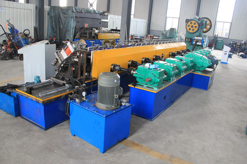 solar strut channel forming machine