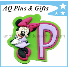 Hot Selling Cartoon Soft PVC Fridge Magnet (FM-02)