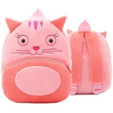 Плюшевый рюкзак с 3D-изображением животных для детского сада