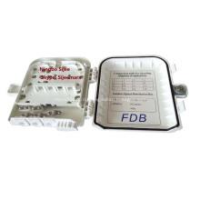 8 сердечника ftth Коробка распределения оптического волокна