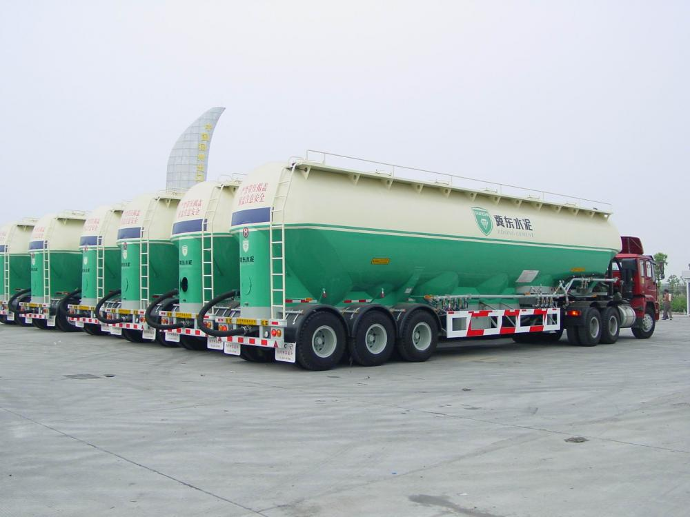 Plenty Tri Axle Silo Tank Semi Trailer