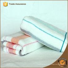 100% de algodón personalizado rayas toallas de playa, toallas de piscina