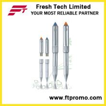 Foguete cabeça caneta estilo flash drive usb (d403)