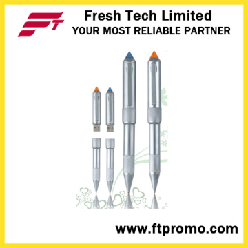 Rocket Head Pen Style USB Flash Drive (D403)