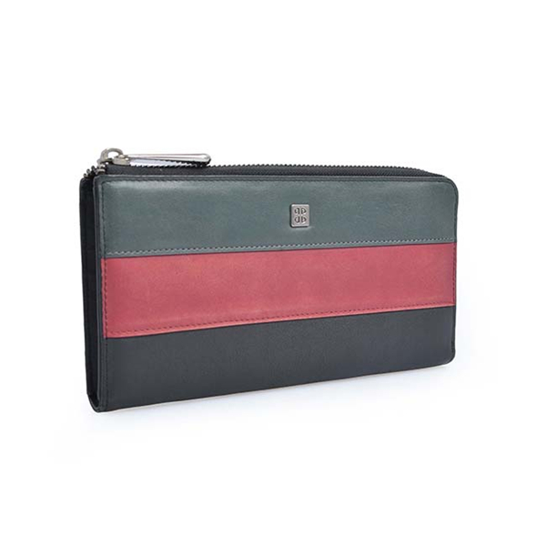New products leather women long wallet zipper clutch cell phone wallet